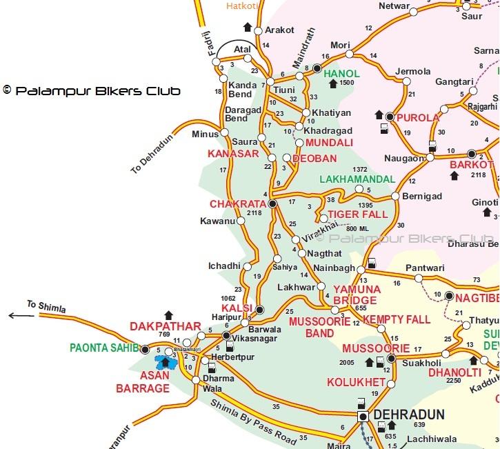 Chakrata-Hatkoti-map