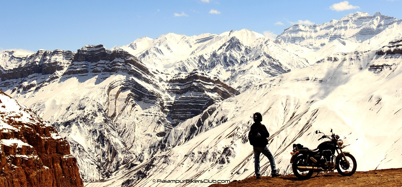 Palampur Bikers Club Extreme ride to Spiti Valley , Himachal.