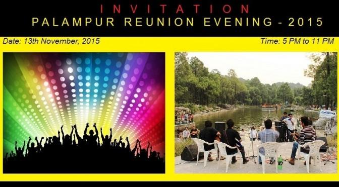Palampur Reunion Evening 2015